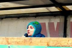 Sprecherin einer Frauenrechtsbewegung