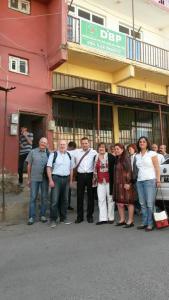 Delegation in Diyarbakir