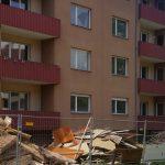 Entkernung der GBG Wohnungen in der Carl-Benz-Straße (Foto: WGDS)