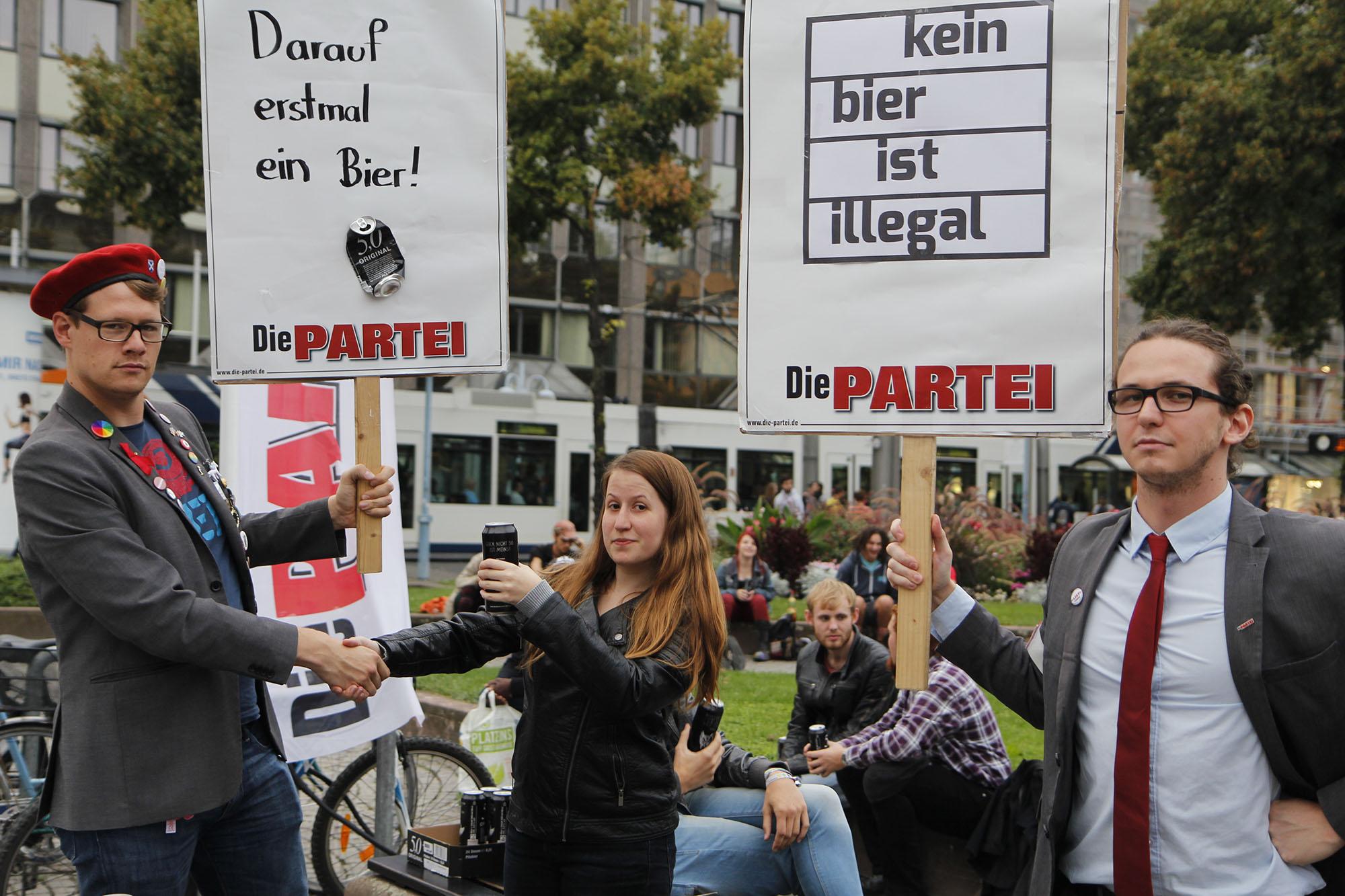Verbotsforderungen rund um den Paradeplatz: Kein Alkohol ist auch keine Lösung