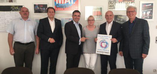 SPD beim Betriebsrat von GE in Mannheim