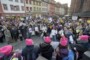 Womens  March in Heidelberg