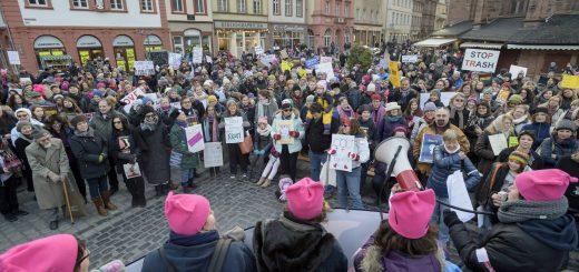 Womens  March in Heidelberg