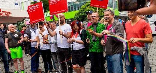 #lovewins - CSD-Parade durch die Quadrate