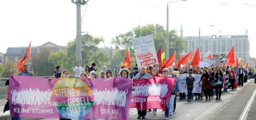 """""""Ein Zeichen des Widerstands"""" - Breite Bündnisdemo gegen die AfD [mit Bildergalerie]"""