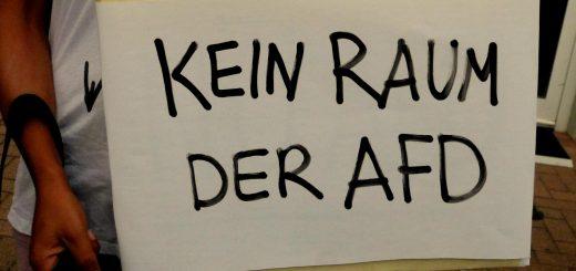 Ludwigshafen: Der AfD die Zähne gezeigt [mit Bildergalerie]
