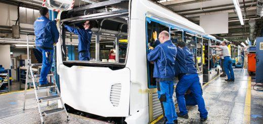 Zukunftspaket für Daimler Bus-Geschäftsbereich
