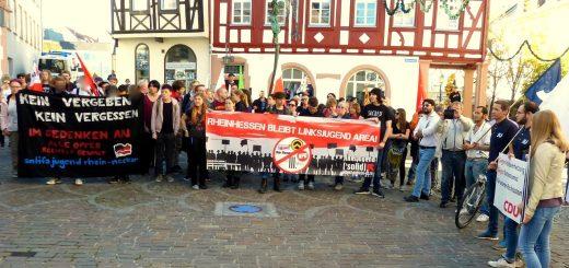 Alzey zeigt klare Kante gegen Rechts [mit Bildergalerie und Video]