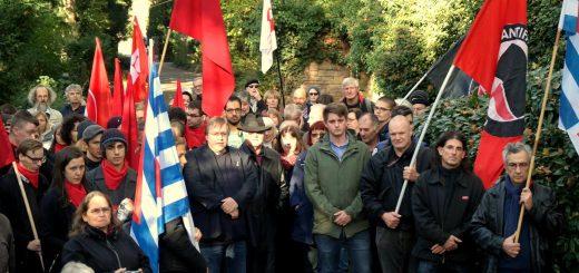 Heidelberg: Gedenkfeier für ermordete Widerstandskämpfer*Innen [mit Bildergalerie und Video]
