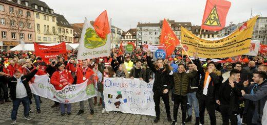 IG Metall: Starkes Zeichen der Solidarität