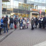 Protest gegen eine besonders rücksichtslose Abschiebung in Ludwigshafen