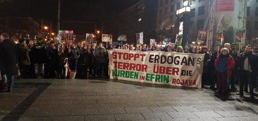Afrin eingekesselt – NAV-DEM ruft bundesweit zu Protesten auf – Kundgebungen auch in Mannheim