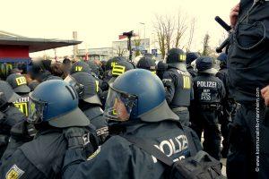 Kommentar Kandel am 24. März: Die Polizei, die Medien und das Märchen von der Gewalt [mit Video]