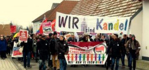 Kandel erneut im Ausnahmezustand – 3 Demonstrationen angemeldet