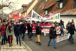 Kandel im Ausnahmezustand – Etwa 3000 Menschen demonstrierten aus unterschiedlichsten Motiven (mit Fotogalerie)