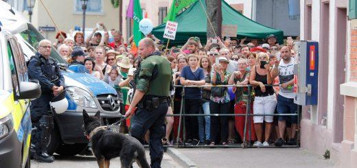 Mannheimer Antifaschist in Karlsruhe Durlach zu Geldstrafe verurteilt