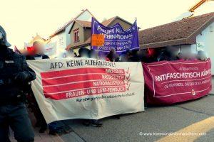 Erneute Demonstrationen in Kandel