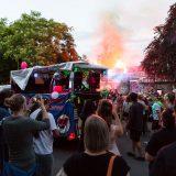 Nachttanzdemo: Ausgelassene Feier zum 45. Geburtstag des JUZ Friedrich Dürr [mit Bildergalerie und Video]
