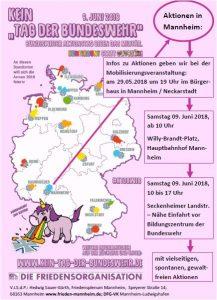 """Werben für's Sterben? Der """"Tag der Bundeswehr"""" wirbt am Samstag in Mannheim für den Dienst an der Waffe"""