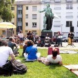 """""""Bunte Vielfalt statt völkischer Einfalt"""" - Das zweite Kulturfest gegen Rechts am Schillerplatz"""