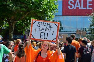Schafft Seebrücken! Demo für sichere Fluchtrouten und gegen die Abschottung der EU [mit Bildergalerie und Video]