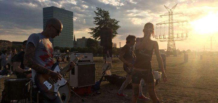 Musikstadt Mannheim auf Abwegen? Konzert auf der Neckarwiese durch Ordnungsamt beendet