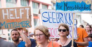 Kundgebung: Bleiberecht für Geflüchtete und sichere Fluchtrouten! Keine Internierungslager!