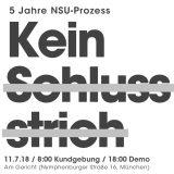 Tag X im NSU-Prozess: Radiosondersendung im bermuda.funk und Bus aus Mannheim zur Demo in München