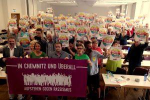 """""""Gegen Rassismus und Intoleranz – auf den Straßen und in den Parlamenten"""""""