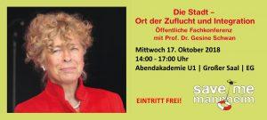 Die Stadt -  Ort der Zuflucht und Integration @ Abendakademie Mannheim | Mannheim | Baden-Württemberg | Deutschland
