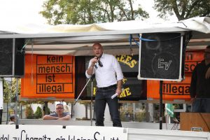 Kandel: Rechte Demo und Gegendemos - Verletzter nach Biss von Polizeihund