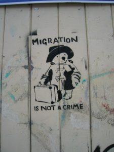 """Migrant caravan"" - Solikundgebung in Mannheim"