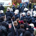 Kandel bleibt Tummelplatz für Rechtsextreme - Organisationen gegen Rechts in Überzahl (mit Fotogalerie)