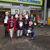 Real: Gewerkschaft kämpft für einen Tarifvertrag