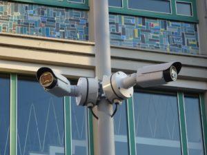 """Infostand zum Thema Videoüberwachung - """"Gegen den Angriff des Postfaktischen"""""""