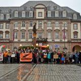 Ernste Lage auf den Rettungsschiffen im Mittelmeer - Seebrücke Kundgebung in Heidelberg
