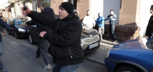 "Angriff rechter Störer*innen auf Eröffnungsfeier des ""Ewwe longt's"" – Funktionär der AfD-Jugend mit dabei"