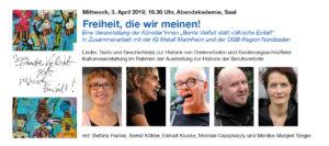 Freiheit, die wir meinen! @ Abendakademie, Saal | Mannheim | Baden-Württemberg | Deutschland