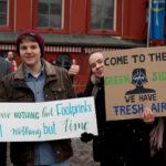 """""""Fridays for Future"""" in Mannheim: Mehr als 1000 Schüler*innen bei Schulstreik und Klimademo [mit Bildergalerie und Video]"""