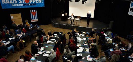 extrem / Mitte / rechts: 11. Kongress von Mannheim gegen Rechts erneut mit hoher Besucherzahl (mit Fotogalerie)