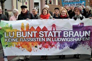 Internationale Woche gegen Rassismus in Ludwigshafen - Auftaktdemo erfährt großen Zuspruch (mit Fotogalerie)