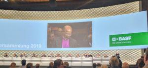 """BASF SE Hauptversammlung 3. Mai 2019 in Mannheim - """"Wir haben Hoffnung"""": Rede von Bischof Jo Seoka"""