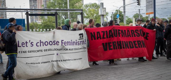 Gelbwesten-Kundgebung in Mannheim: Nazi-Hetze bleibt nicht unwidersprochen [mit Bildergalerie]