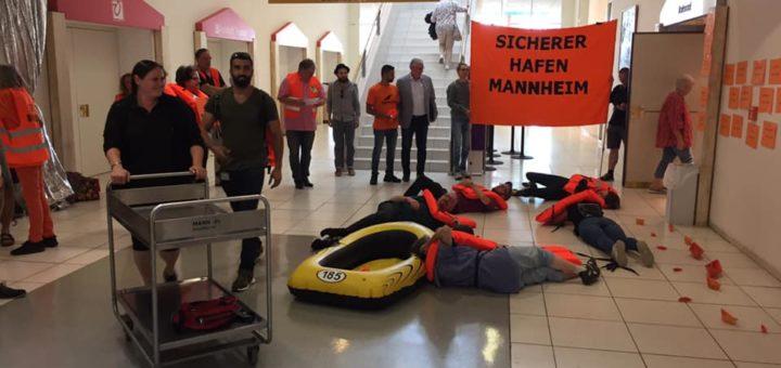 """Gemeinderatsbeschluss: Mannheim ist """"Sicherer Hafen"""""""
