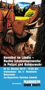 Hannibal im Ländle – Rechte Schattennetzwerke in Polizei und Bundeswehr @ Eintanzhaus | Mannheim | Baden-Württemberg | Deutschland