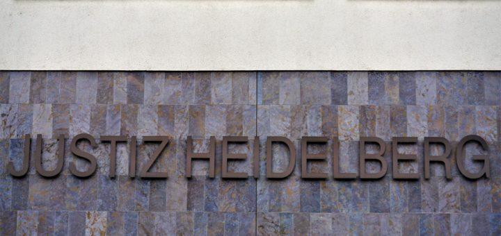 Mutmaßlicher Reichsbürger in Heidelberg verurteilt