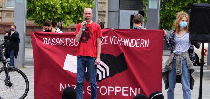 Erfolgreicher Protest gegen Kundgebung des rechtsextremen III. Weg in Kaiserslautern (mit Fotogalerie)