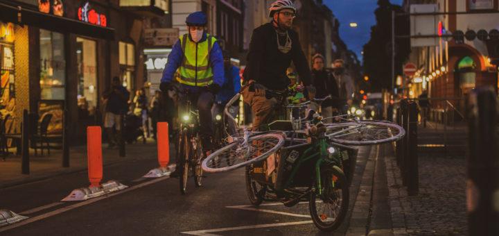 Gefahrenstelle Marktstraße – Ghost Bike erinnert an Unfallopfer