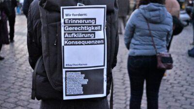 #SaytheirNames: Beeindruckende Hanau-Gedenkveranstaltungen in Mannheim und Ludwigshafen (mit Fotogalerie und Video)