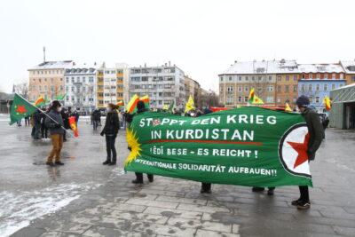 """Kundgebung am Alten Messplatz: """"Die Zeit ist gekommen - Freiheit für Abdullah Öcalan!"""""""